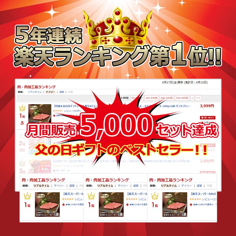大和榛原牛(黒毛和牛A5等級)長期低温熟成 赤身モモ ステーキ 150g×2枚 送料無料 冷蔵便