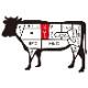 ギフト 大和榛原牛(黒毛和牛A5等級)極上ロース ステーキ 200g×2枚 化粧箱入り 送料無料 お中元 お歳暮 内祝い 冷蔵便