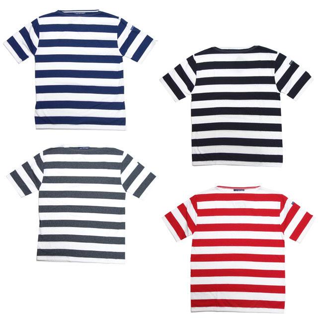セントジェームス SAINT JAMES ピリアック ワイドボーダー PIRIAC WIDEBORDER 半袖 Tシャツ メンズ レディース