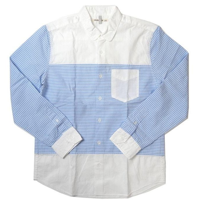 GAIJIN MADE ガイジンメイド 外人公司 ボーダー シャツ メンズ シャツ