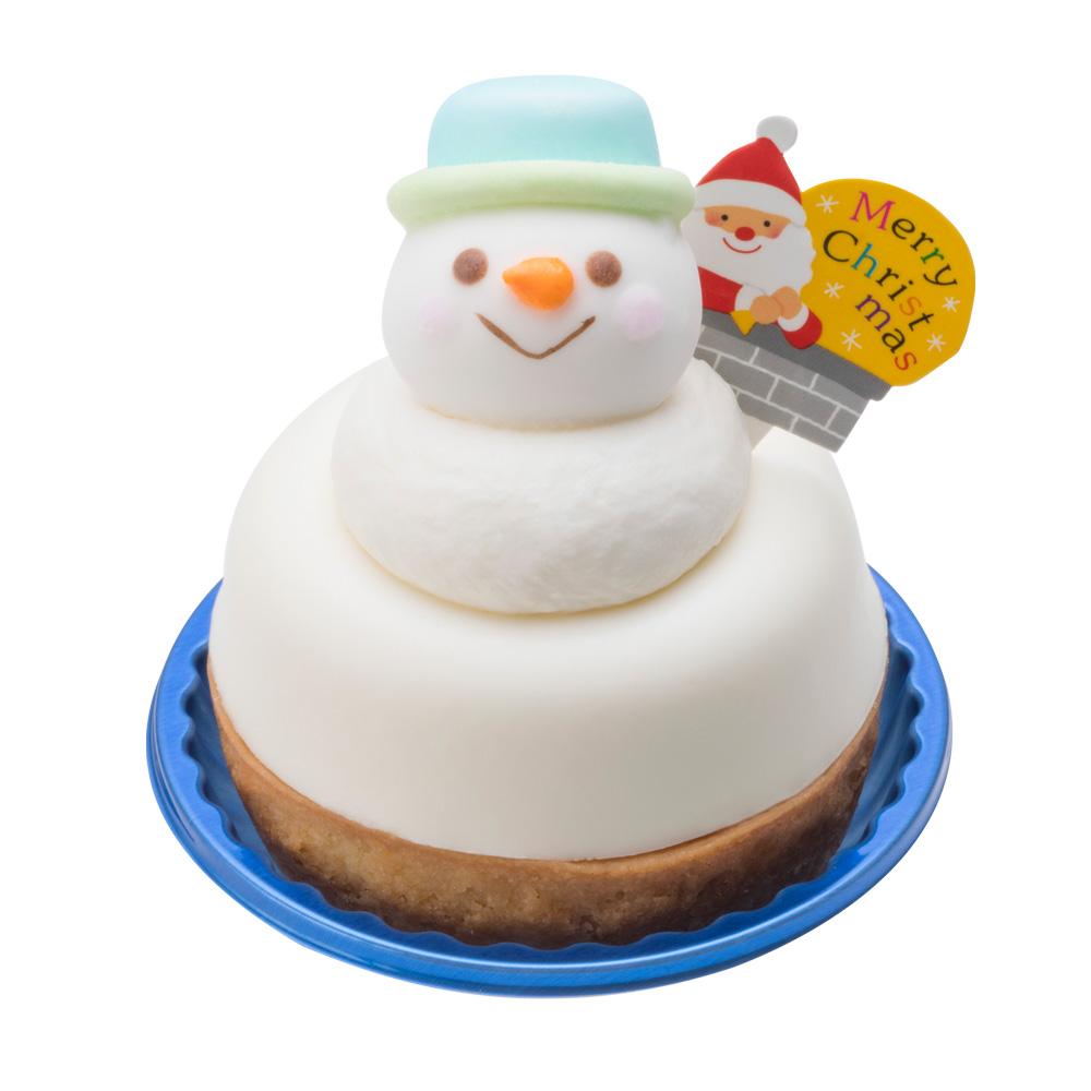 ホワイトチョコ・スノーマン【クリスマス店舗受取専用】:ケーキ