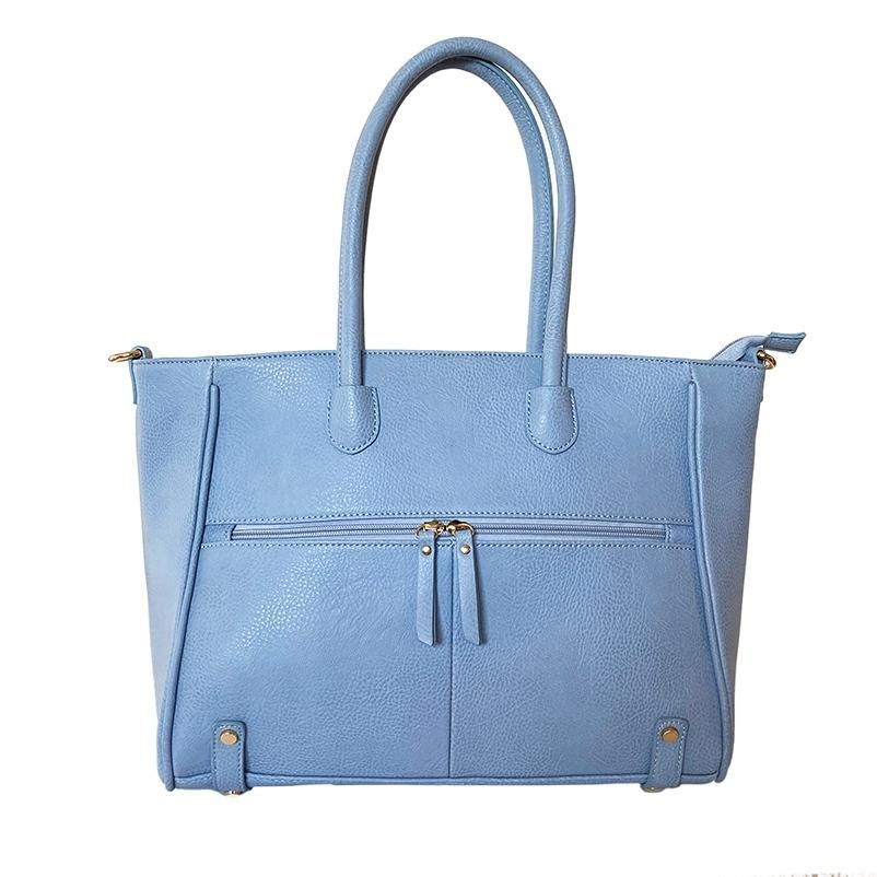 フロントファスナーポケットバッグ