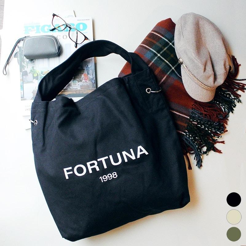 FORTUNA ロゴキャンバストートバッグ