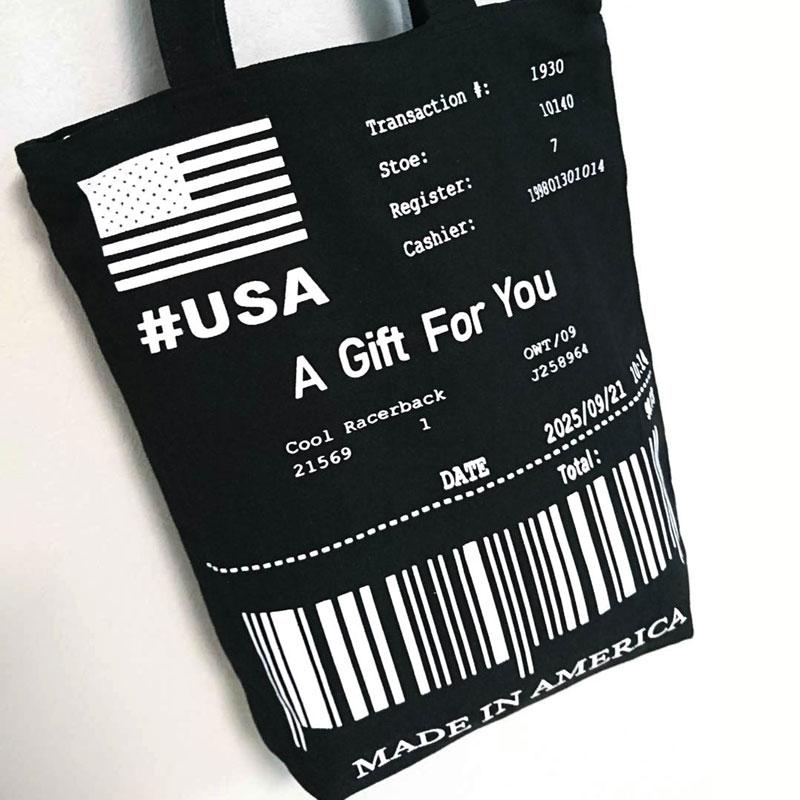 オリジナルキャンバストートバッグ(barcode)