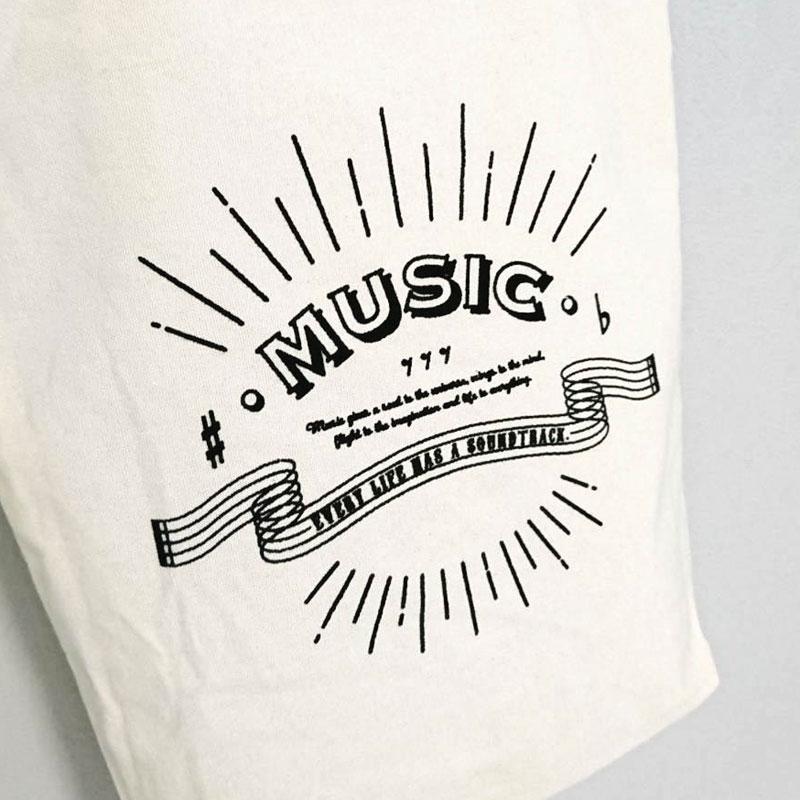 オリジナルキャンバストートバッグ(Music)