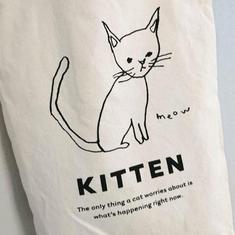 オリジナルキャンバストートバッグ(Cat)