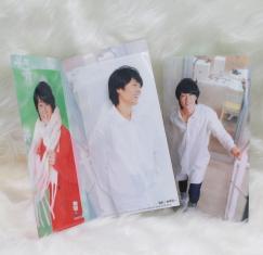 真田ナオキさんチケットファイル(生写真つき)代引専用