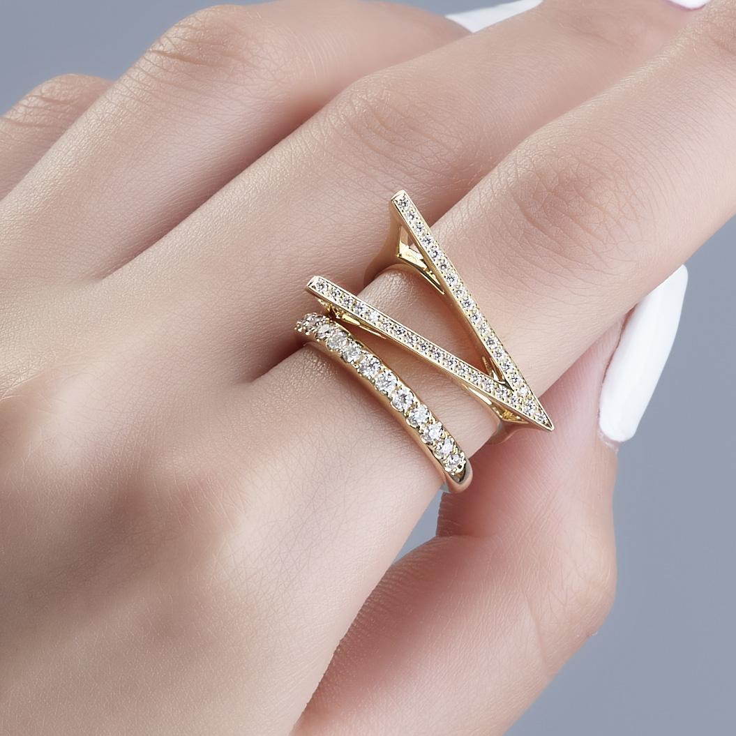 K18 ヴィクトリー ダイヤモンド リング