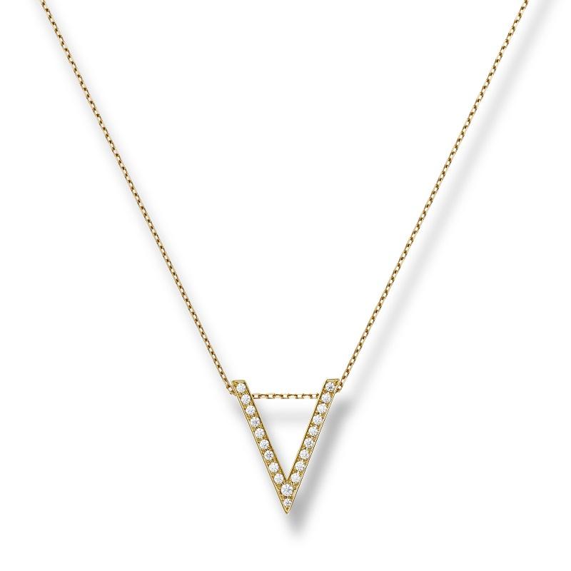 K18 ヴィクトリー ダイヤモンド ペンダント