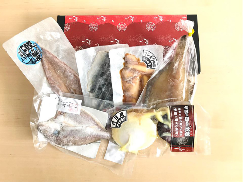 京都の魚卸厳選!おうちで楽しむ地魚セット