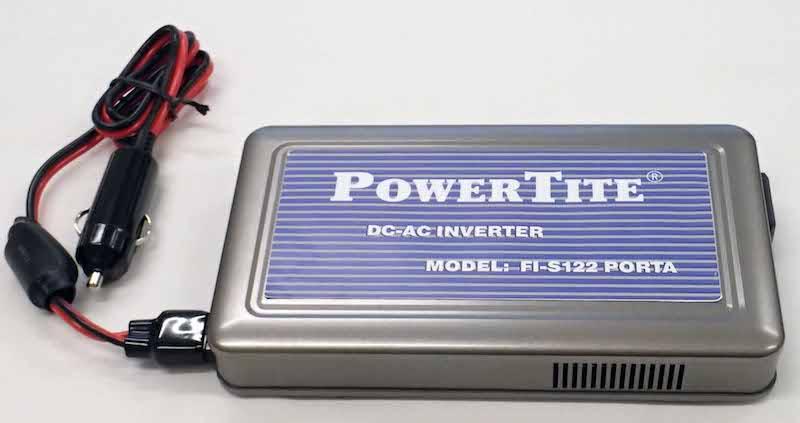 【#192150】サイン波インバーター FI-S122 PORTA 12V122W