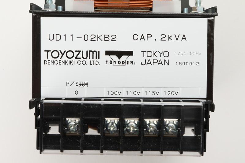【#195001】トランス 2kW 100V-120V