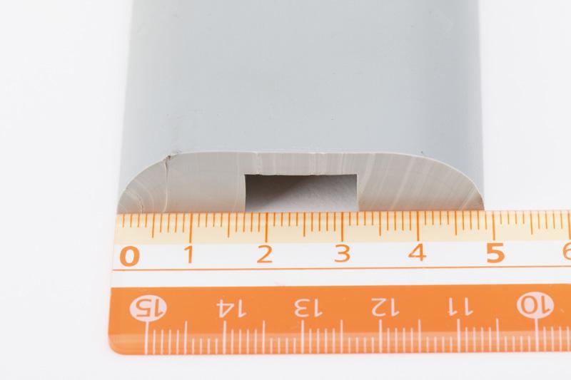 【#056173】LEO PVCモール グレーW50