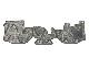 【#113020】ハイエース200系ワイド・フロントフロアマットl 3分割