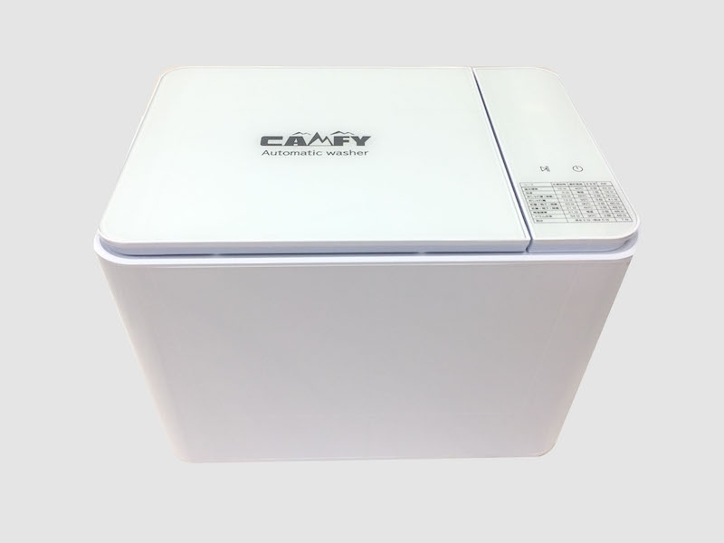 【#133030】CAMFYコンパクト全自動温水洗濯機