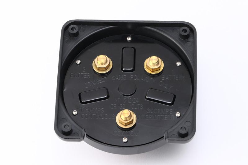 【#182006】バッテリー切り替えスイッチ 黒 175A