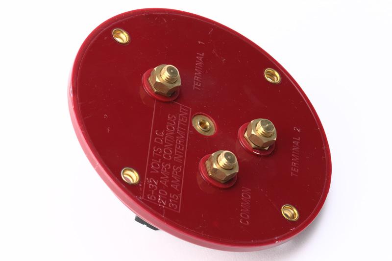 【#182018】バッテリー切り替えスイッチ 赤 100A
