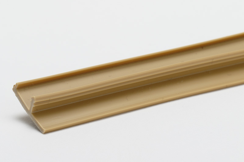 【#056059】エッジ モールツバ付T型 キャメルブラウン F6-45 4M物