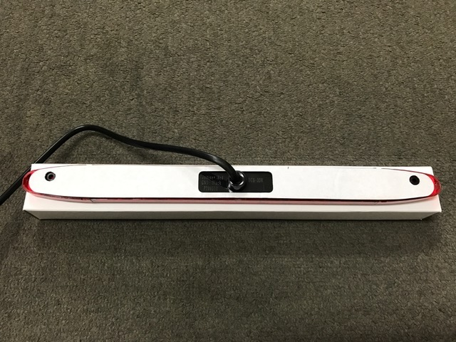 【#211136】LEDハイマウントストップランプ RED 9〜36V