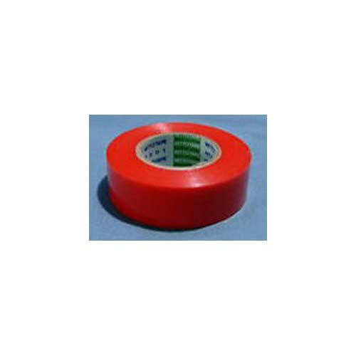 【#102008R】ビニールテープ赤