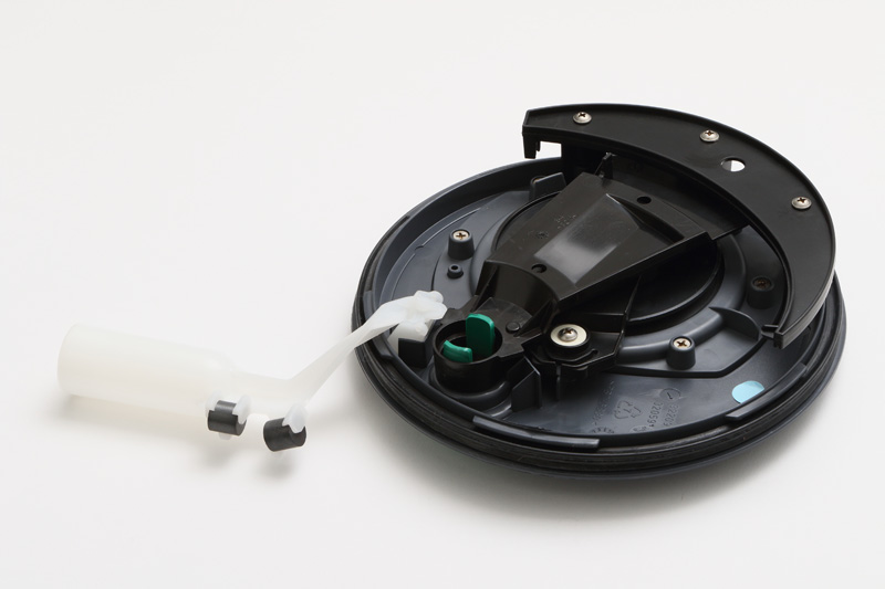 カセットトイレC400タンクメカニズム