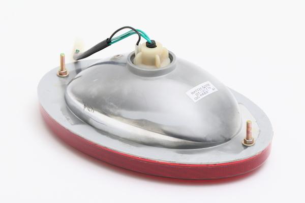 【242069】ZIL系 楕円テールランプ レッド