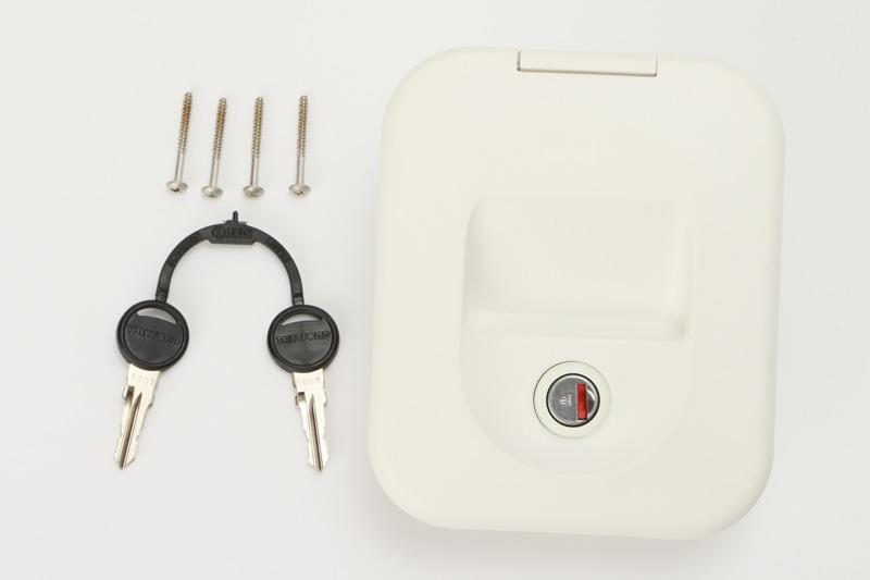 【#144057】カセットトイレ C200-CW 給水口キー付
