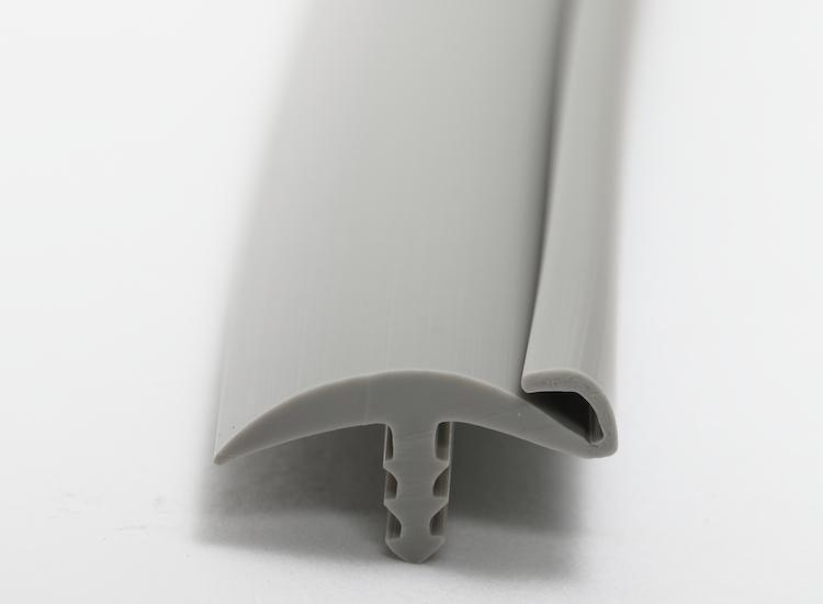 エッジプロフィール15mmミディアムグレー上ツバ付T型