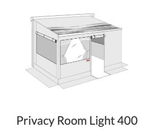 FIAAMA プライバシールームRight 400 Medium