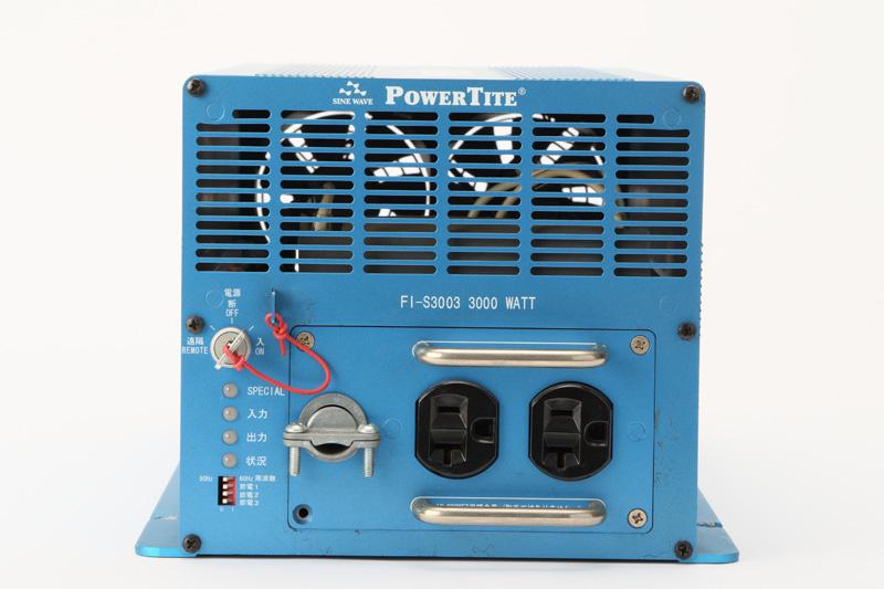 【#192111】サイン波インバーター FI-S3003  12V 3000W 50/60Hz切替