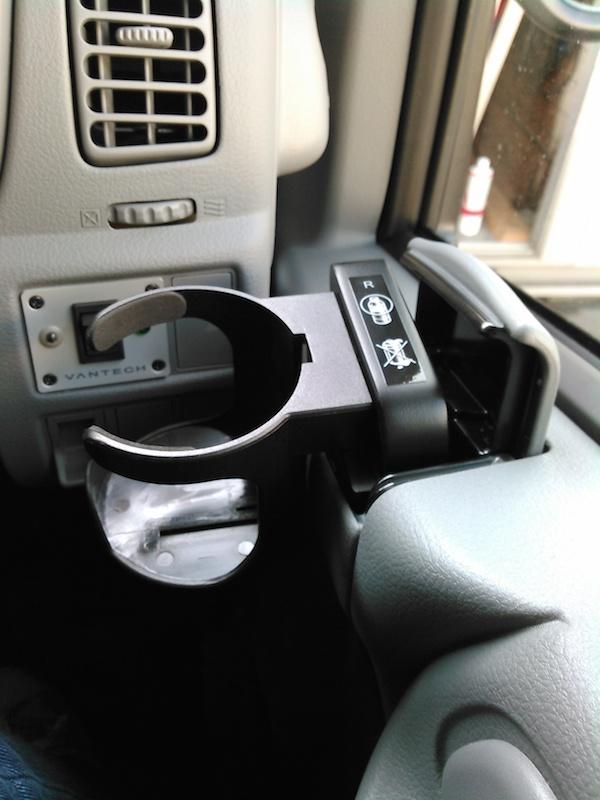 【#061010】カムロード用C.P.Cオリジナルドリンクホルダー 右(運転席用)