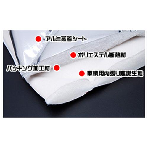 TOYOTA車用 マルチシェード フロントセット