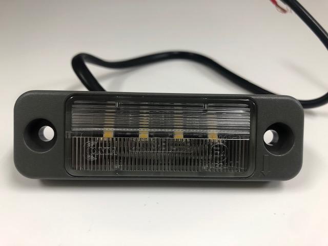 【#211140】LEDライセンスプレートランプ 9-33V