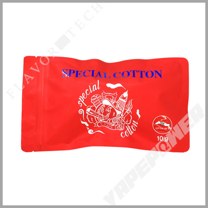 SPECIAL COTTON 10g【V.VAPE】スペシャル コットン ブイ ベイプ