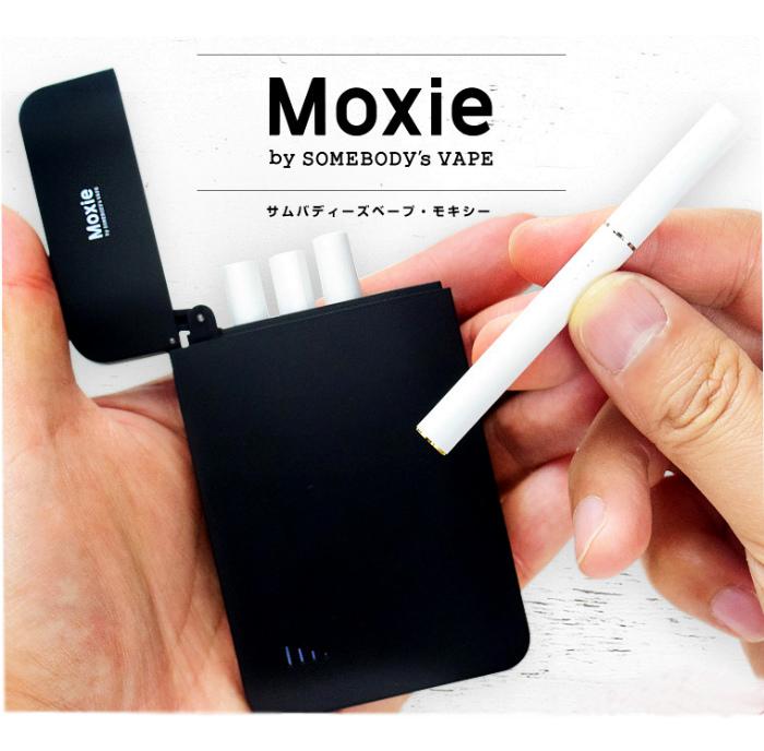 Moxie 【Somebody's VAPE】 モキシー サムバディーズ ベイプ
