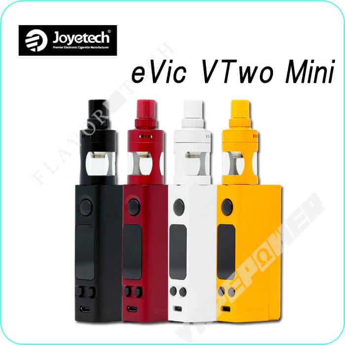 eVic VTwo Mini with CUBIS Pro Full Kit【Joyetech】イービック・ブイトゥーミニキュービスプロフルキット ジョイテック
