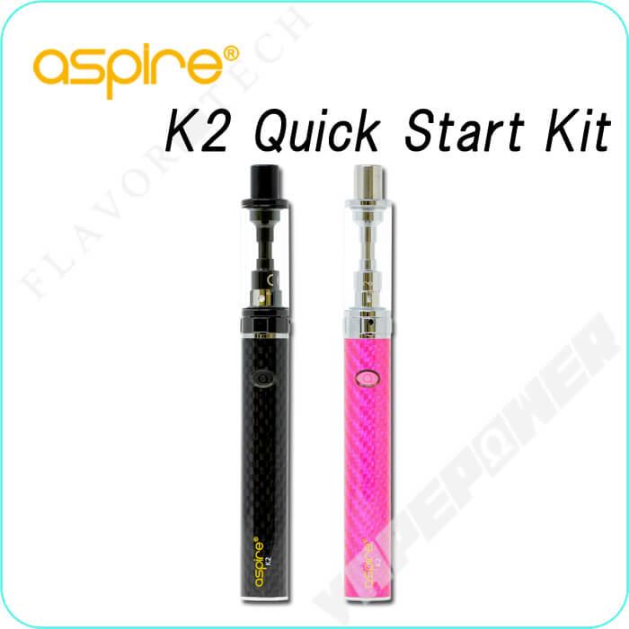 K2 Quick Starter Kit 800mAh【aspire】ケーツークイックスターターキット アスパイア