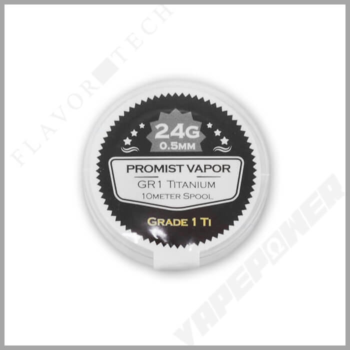GR1 Titanium Wire 10m【PROMIST VAPOR】チタン プロミスト ベイパー