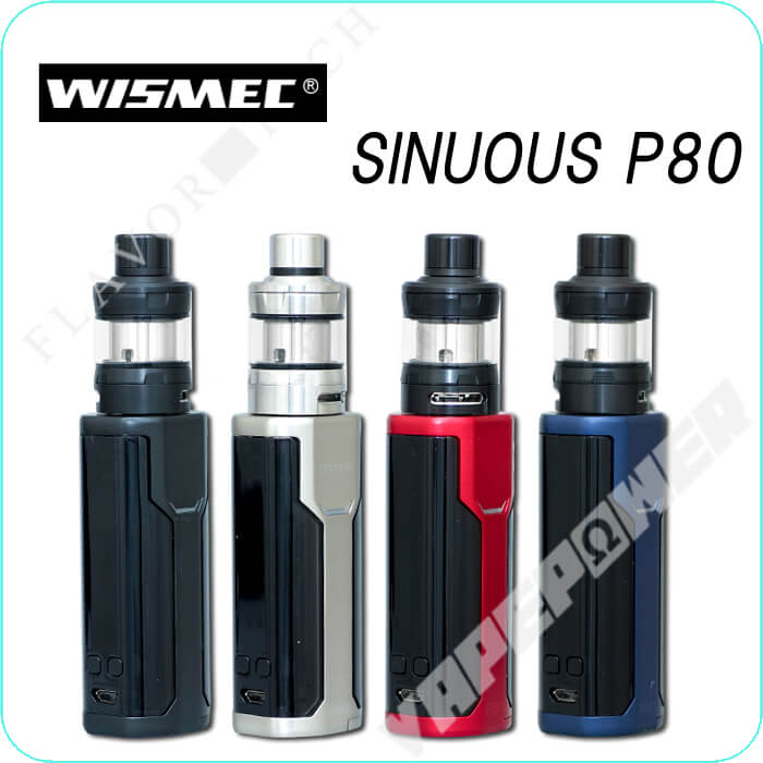 SINUOUS P80 with Elabo Mini Kit 【WISMEC】 シニュアス ピー80 ウィズ エラボー ミニ キット ウィスメック