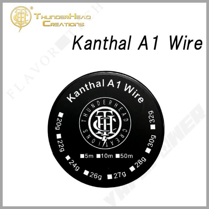 Kanthal A1 Wire 10m【THUNDERHEAD CREATION】サンダーヘッド クリエーション