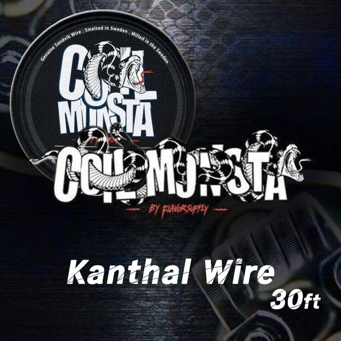 Kanthal A1 30ft【COIL MONSTA】カンタル コイルモンスター