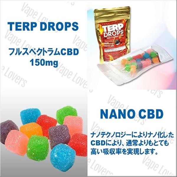 CANNA NANO CBD CBDグミ フルスペクトラムCBD150mg 22粒入り