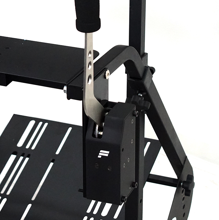 STRASSE RCZ01/RCZ02用 ハンドブレーキプレート[単品] FANATEC専用 【縦置きタイプ】ハンドブレーキ台 サイドブレーキ台