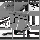 STRASSE GAMING LAB ゲーミングデスク 昇降式 幅140cm【期間限定ケーブルホルダー付き】
