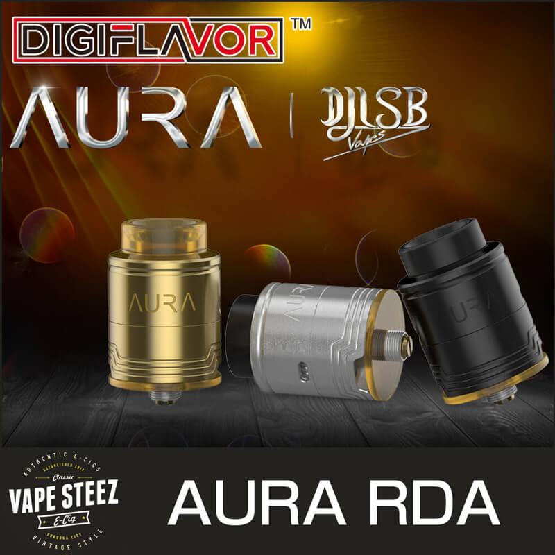 DIGIFLAVOR AURA RDA 24mm BFピン付き