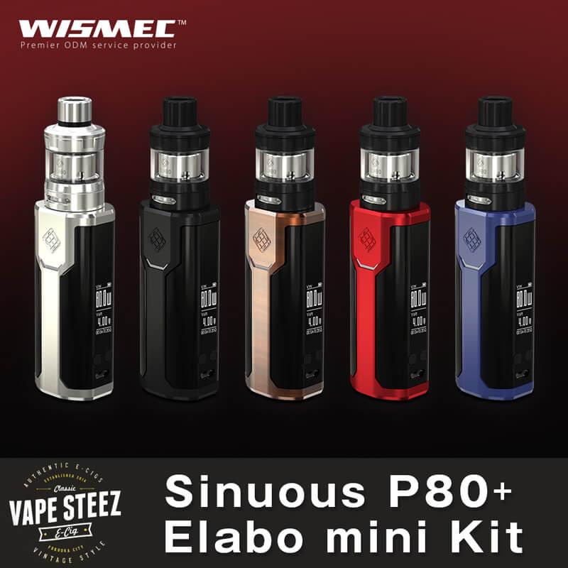 WISMEC SINUOUS P80 with Elabo Mini Kit