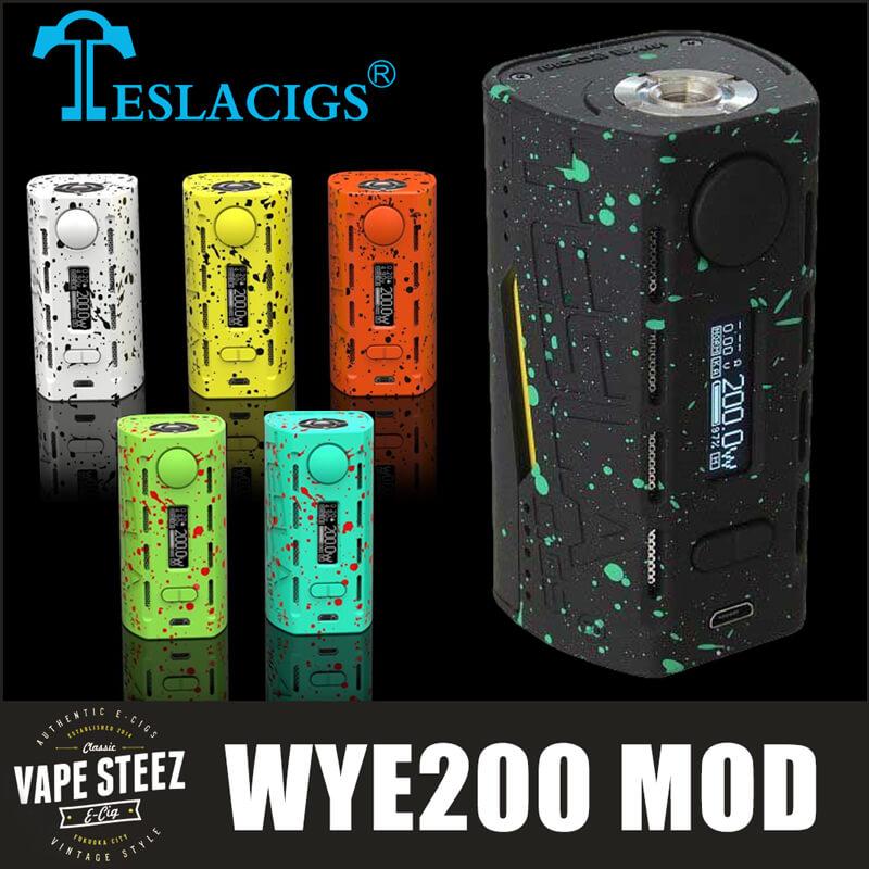 TESLACIGS WYE200 MODのみ (VTC4バッテリー2本付き)