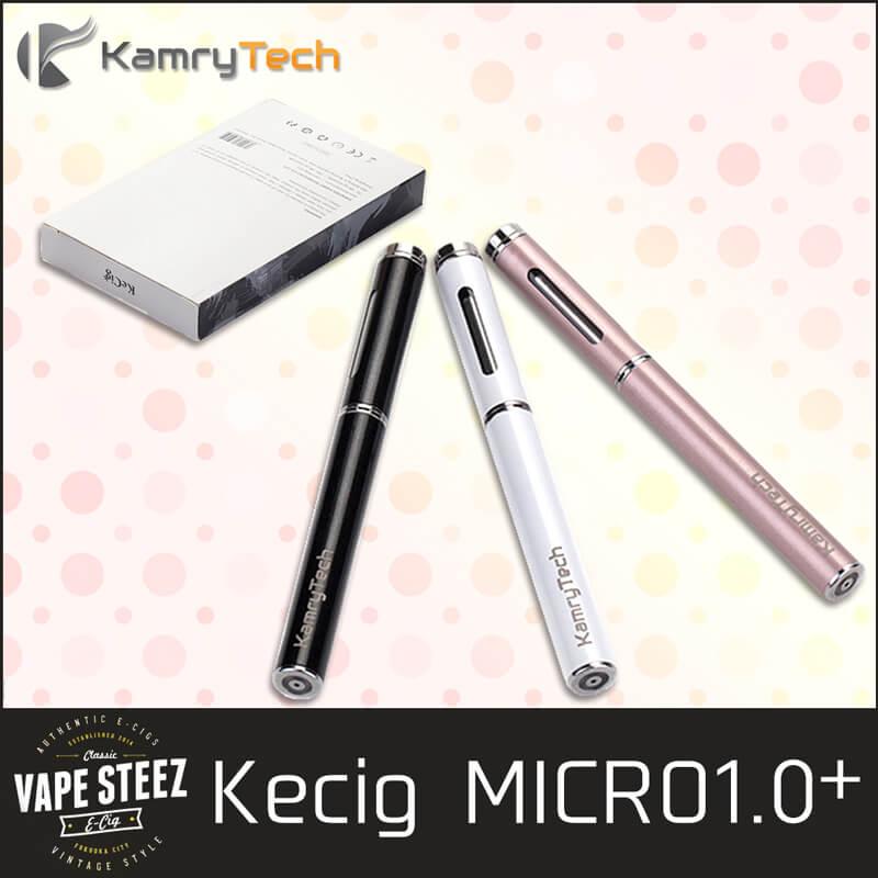 【電子タバコ スターターキット】KAMRY MICRO 1.0 PLUS ダブルキット