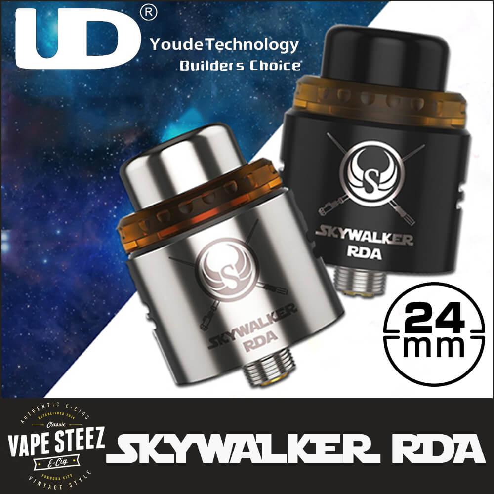UD SKYWAKER RDA 24mm スカイウォーカーRDA BFピン対応 濃厚ミスト&フレーバー 超爆煙 サブオーム ドリッパー