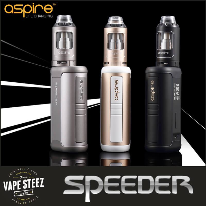 Aspire SPEEDER 200W KIT 電子タバコ スターターキット VTC4バッテリー 2